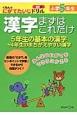 漢字 まずはこれだけ 小学5年生 くもんのにがてたいじドリル 国語11 みんなのにがてをできるにかえる