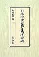 日本中世の穢と秩序意識