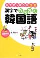 漢字でひらめく韓国語 リー先生の日本人のための韓国語レッスンシリーズ 当てずっぽうの法則