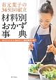 有元葉子の365日の献立 材料別おかず事典 1627レシピ・カロリー・塩分表示つき