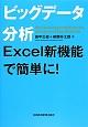 ビッグデータ分析 Excel新機能で簡単に!