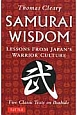 Samurai wisdom LESSONS FROM JAPAN'S WARR