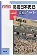 高校日本史B 演習ノート 教科書完全準拠 新課程