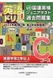 英語ドリル 国連英検ジュニア・テスト過去問題集 第1回・第2回試験問題 Cコース 英語学習2年以上 2013 CD付