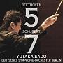 ベートーヴェン:交響曲第5番≪運命≫ シューベルト:交響曲第7番≪未完成≫(HYB)