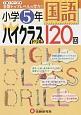小学5年 国語 ハイクラスドリル 120回 1日1ページで全国トップレベルの学力!