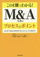 この1冊でわかる! M&A 実務のプロセスとポイント はじめてM&Aを担当することになったら読む本