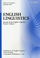 ENGLISH LINGUISTICS 31-2 Journal of the English Li