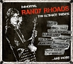 IMMORTAL RANDY RHOADS:ULTIMATE TRIBUTE (CD+DVD)(DVD付)