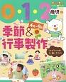 0・1・2歳児の季節&行事製作 4月~9月 ことばかけ例&飾り方つき!