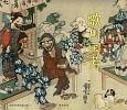 歌川国芳-奇と笑いの木版画