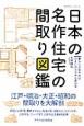 日本の名作住宅の間取り図鑑 江戸・明治・大正・昭和の間取りを大解剖