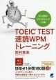 TOEIC TEST速読WPMトレーニング