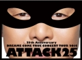 25th Anniversary DREAMS COME TRUE CONCERT TOUR 2014 - ATTACK25 -