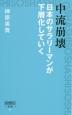 中流崩壊 日本のサラリーマンが下層化していく 2020年、アベノミクス後の日本