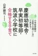 慶應幼稚舎・早実初等部・筑波小学校に合格する子育て 小学校受験は「お家での過ごし方」で決まる!