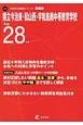 県立今治東・松山西・宇和島南中等教育学校 平成28年 最近4年間入試傾向を徹底分析・合格への対策と学習の