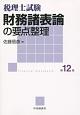 税理士試験 財務諸表論の要点整理<第12版>