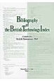 Bibliography of the British Technology Index