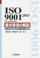 ISO 9001:2015(JIS Q 9001:2015) 要求事項の解説