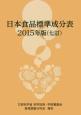 日本食品標準成分表 2015<七訂>