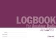 LOGBOOK for Amateur Radio CQ ham radioオリジナルアマチュア無線用ログブック