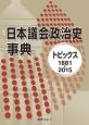 日本議会政治史事典 トピックス1881-2015