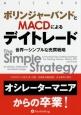 ボリンジャーバンドとMACDによるデイトレード 世界一シンプルな売買戦略