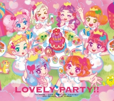 "「アイカツ!」~LOVELY PARTY!!-TV ANIME DATA CARDDASS ""AIKATSU!"" 3RD SEASON BEST ALBUM"