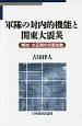 軍隊の対内的機能と関東大震災 明治・大正期の災害出動
