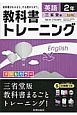教科書トレーニング 英語 2年<三省堂版> 教科書がわかると、やる気がちがう。