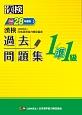 漢検 1/準1級 過去問題集 平成28年