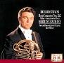 R.シュトラウス:ホルン協奏曲集/ウェーバー:コンチェルティーノ