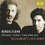 メンデルスゾーン:チェロ・ソナタ第1番・第2番 協奏的変奏曲/7つの無言歌