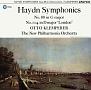 ハイドン:交響曲 第88番「V字」&第104番「ロンドン」(HYB)
