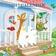 ムーミン壁掛けカレンダー(水彩画) 2017