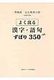 茨城県公立高校入試 よく出るずばり350 漢字・語句 平成29年