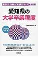 愛知県の公務員試験対策シリーズ 愛知県の大学卒業程度 教養試験 2018