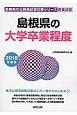 島根県の大学卒業程度 2018 島根県の公務員試験対策シリーズ