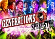 "GENERATIONS LIVE TOUR 2016 ""SPEEDSTER""(通常盤)"
