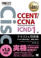シスコ技術者認定教科書 CCENT/CCNA Routing and Switching ICND1編 v3.0 テキスト&問題集 対応試験100-105J/200-125J