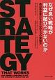 なぜ良い戦略が利益に結びつかないのか