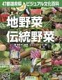 47都道府県ビジュアル 地野菜/伝統野菜