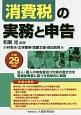 消費税の実務と申告 平成29年