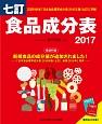 食品成分表<七訂> 2017 便利な2分冊!