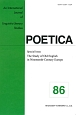 POETICA Special Issue:The Study of Old English in Nineteenth-Century Europe An International Journal (86)
