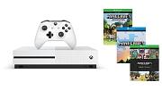 Xbox One S 500GB(マインクラフト同梱版)(ZQ900068)