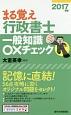 まる覚え行政書士 一般知識○×チェック 2017