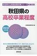 秋田県の高校卒業程度 秋田県の公務員試験対策シリーズ 2018
