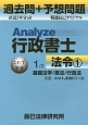 Analyze行政書士 過去問+予想問題 法令1 (1)